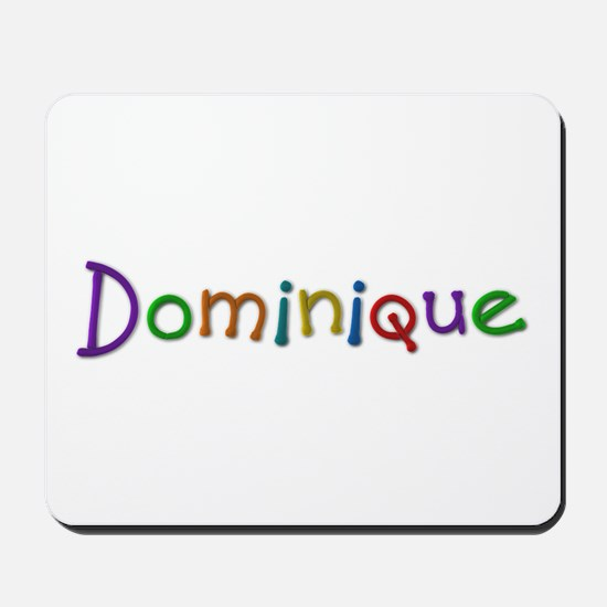 Dominique Play Clay Mousepad