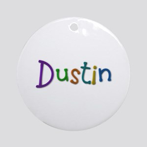Dustin Play Clay Round Ornament