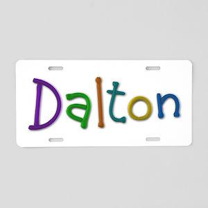 Dalton Play Clay Aluminum License Plate