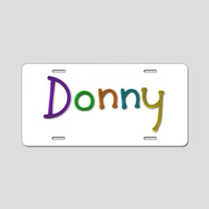 Donny Play Clay Aluminum License Plate
