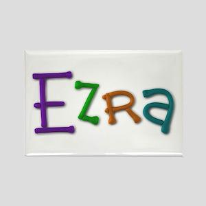 Ezra Play Clay Rectangle Magnet