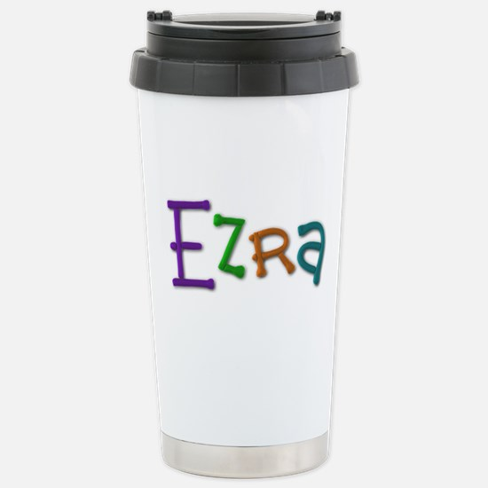 Ezra Play Clay Stainless Steel Travel Mug