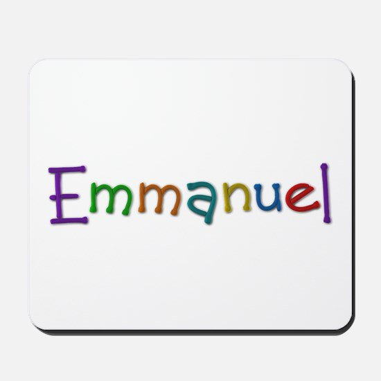 Emmanuel Play Clay Mousepad