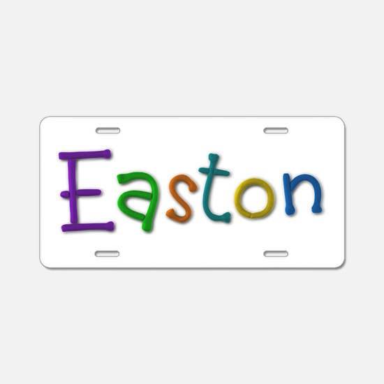 Easton Play Clay Aluminum License Plate