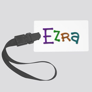 Ezra Play Clay Large Luggage Tag