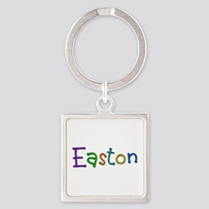Easton Play Clay Square Keychain
