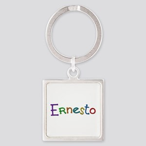 Ernesto Play Clay Square Keychain