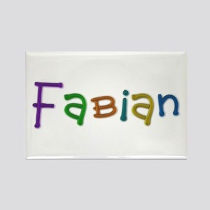 Fabian Play Clay Rectangle Magnet