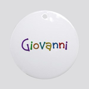 Giovanni Play Clay Round Ornament