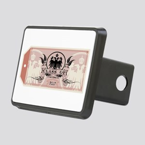 Red Class of 2017 Tag Rectangular Hitch Cover