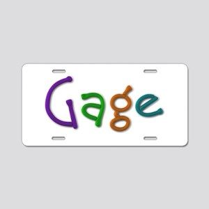 Gage Play Clay Aluminum License Plate
