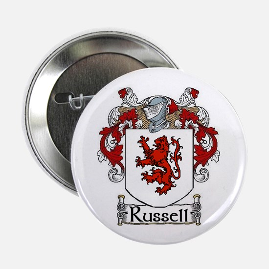 "Russell Coat of Arms 2.25"" Button (10 pack)"