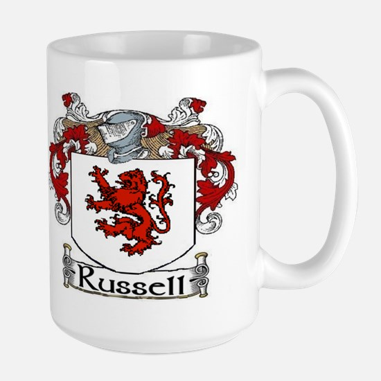 Russell Coat of Arms Large Mug