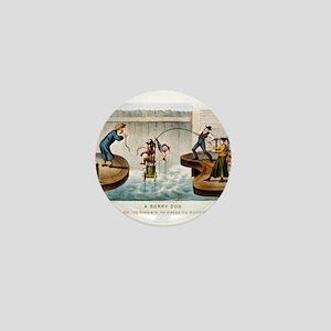A sorry dog - 1888 Mini Button