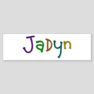 Jadyn Play Clay Bumper Sticker