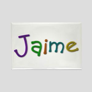 Jaime Play Clay Rectangle Magnet