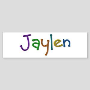 Jaylen Play Clay Bumper Sticker