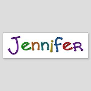 Jennifer Play Clay Bumper Sticker