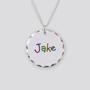 Jake Play Clay Necklace Circle Charm