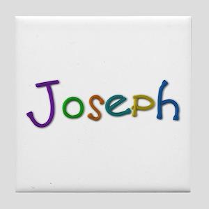 Joseph Play Clay Tile Coaster