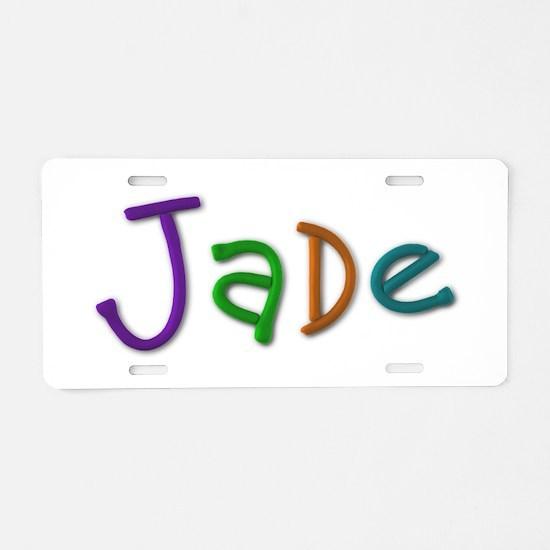 Jade Play Clay Aluminum License Plate