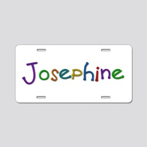 Josephine Play Clay Aluminum License Plate