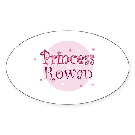 Rowan Oval Sticker