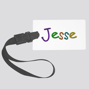 Jesse Play Clay Large Luggage Tag