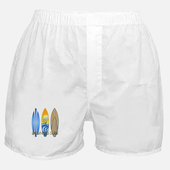 Born To Surf Boxer Shorts