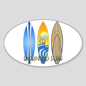 Born To Surf Sticker