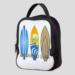 Born To Surf Neoprene Lunch Bag