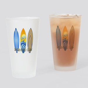 Born To Surf Drinking Glass