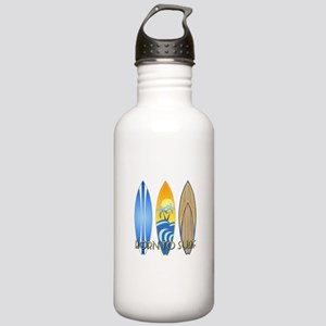 Born To Surf Water Bottle