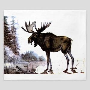 Moose King Duvet