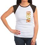 Organ Stamp Women's Cap Sleeve T-Shirt