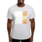 Organ Stamp Ash Grey T-Shirt