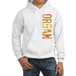 Organ Stamp Hooded Sweatshirt