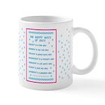 Days of the Week Poem Mug