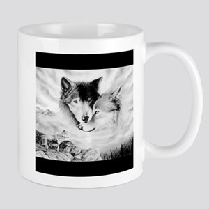 Wolves in the Clouds Mug