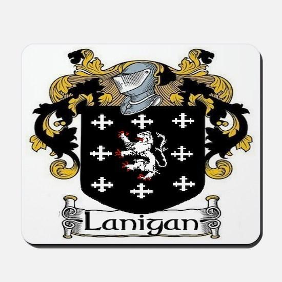 Lanigan Coat of Arms Mousepad