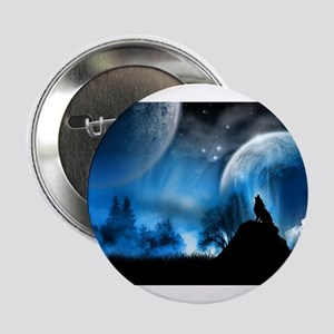 "Wolf at Midnight 2.25"" Button"