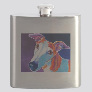 Greyhound #3 Flask
