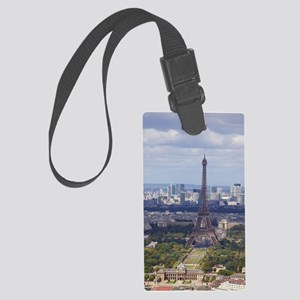 Eiffel Tower Large Luggage Tag