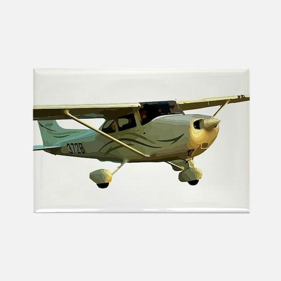 Cessna 172 Skyhawk Rectangle Magnet (10 pack)