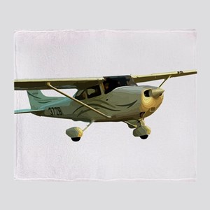 Cessna 172 Skyhawk Throw Blanket