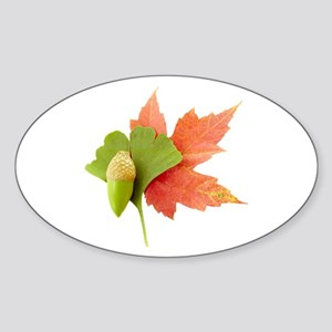 Fall Trio Sticker (Oval)