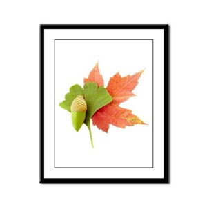 Fall Trio Framed Panel Print
