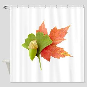 Fall Trio Shower Curtain