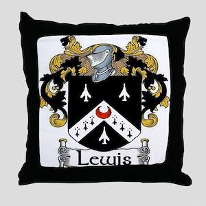 Lewis Coat of Arms Throw Pillow