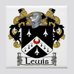 Lewis Coat of Arms Tile Coaster